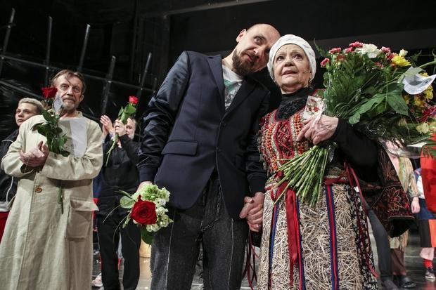 Edward Linde-Lubaszenko, Jan Klata , Elżbieta Karkoszka