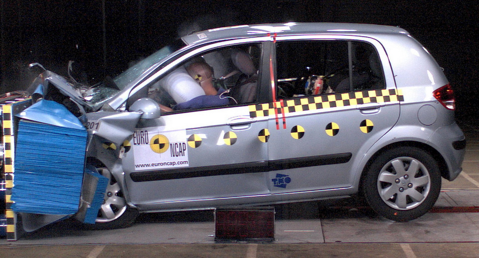 Hyundai Getz – crash test