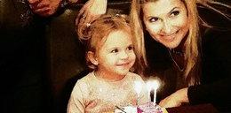 Katarzyna Skrzynecka świętuje urodziny córki