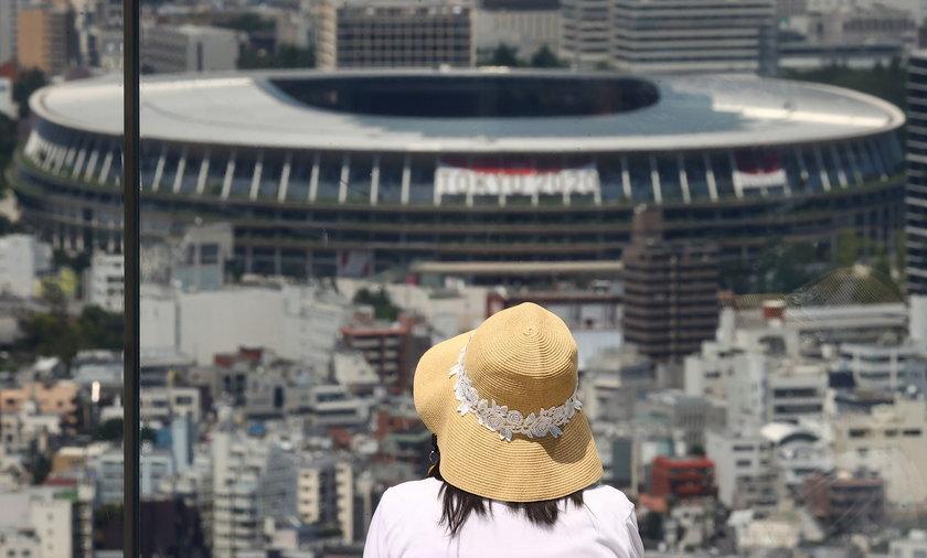 Tokio o tej porze roku nie jest najlepszym miejscem do odwiedzin, a co dopiero do uprawiania sportu na świeżym powietrzu