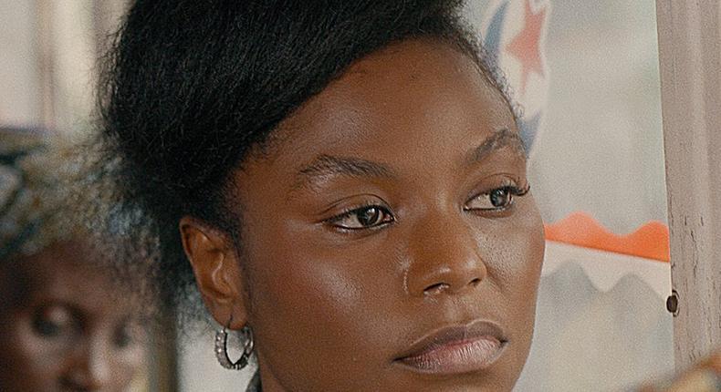 Niyola stars as Tolani Ajao in Kunle Afolayan's 'Swallow' [Netflix]