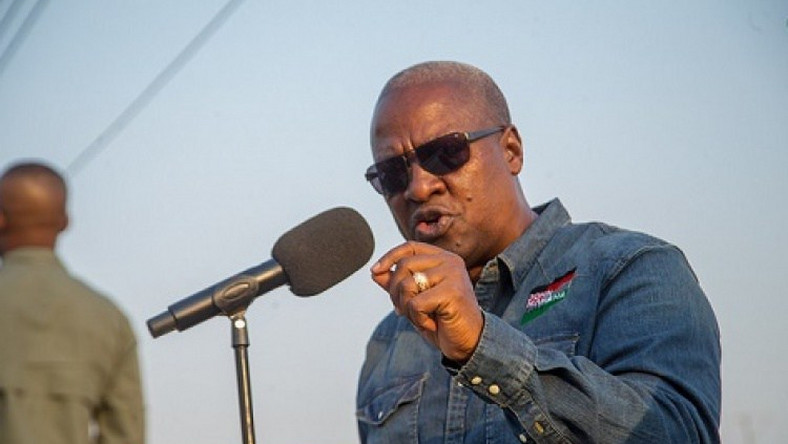 'Be honest, don't promise what you can't do' – Mahama tells politicians