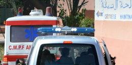 Wypadek pojazdu z migrantami. 16 ofiar śmiertelnych