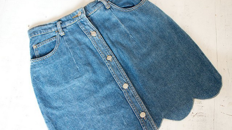 e72f3d33f5 DIY A simple DIY to revamp your old denim skirt - Pulse Kenya