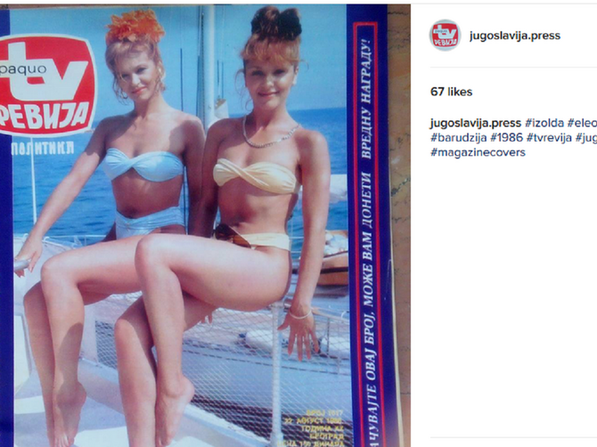 Najseksepilnije sestre bivše Jugoslavije: Danas su za nekoliko decenija starije i SJAJNO izgledaju!