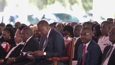 Uhuru speaks on Miguna Miguna's return to Kenya