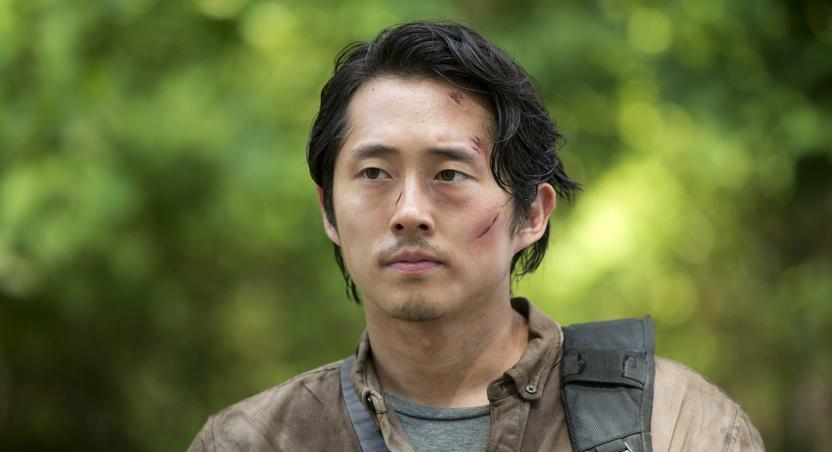 Glenn on 'The Walking Dead'