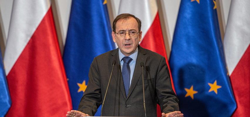 Mariusz Kamiński odpowiada Niemcom na ich propozycję pomocy: przemytnicy ludzi są u was