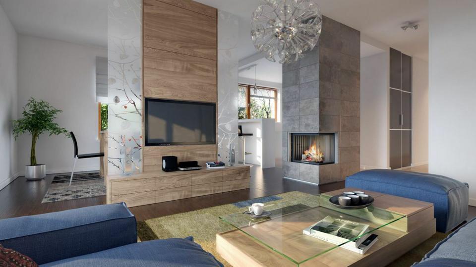 Oryginał Pomysły na ścianę w salonie, kuchni i sypialni. Fajne aranżacje z JP87