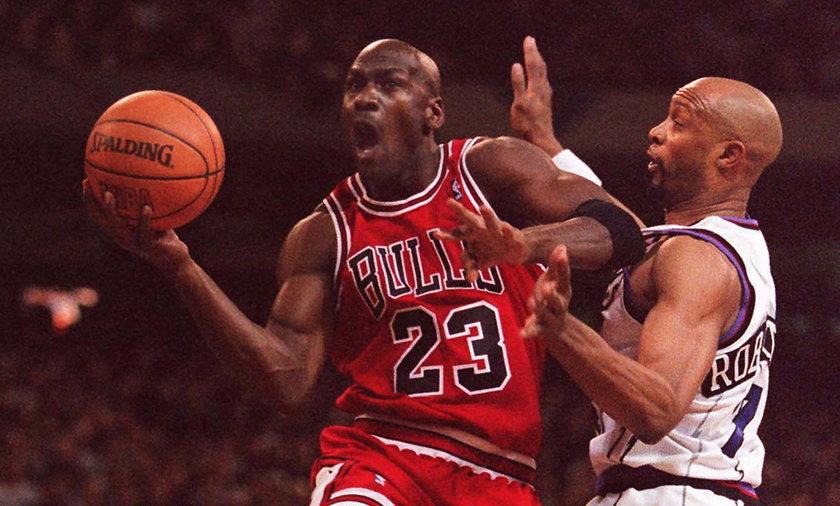 Hojny gest Michaela Jordana