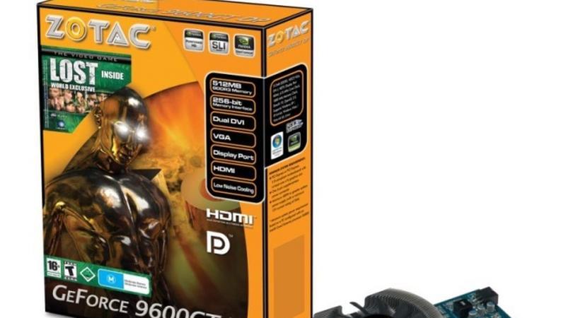 ZOTAC GeForce 9600GT DP