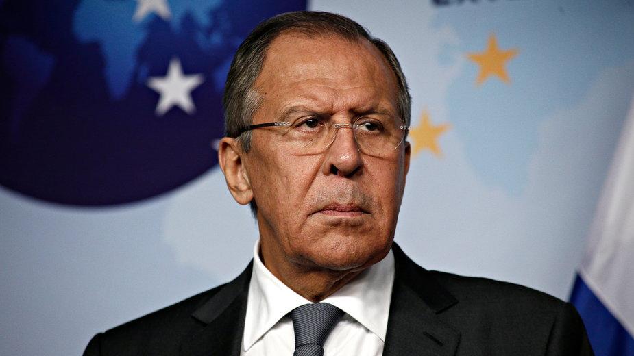 Siergiej Ławrow Minister spraw zagranicznych Federacji Rosyjskiej