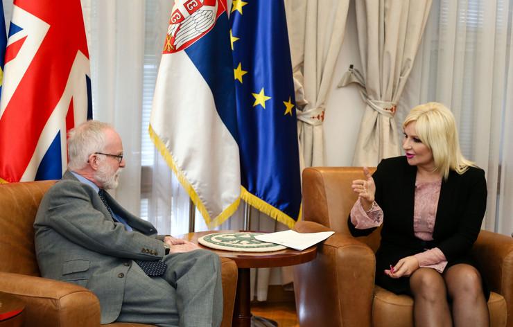 Zorana Mihajlovic, foto Tanjug, Kabinet predsednice vlade
