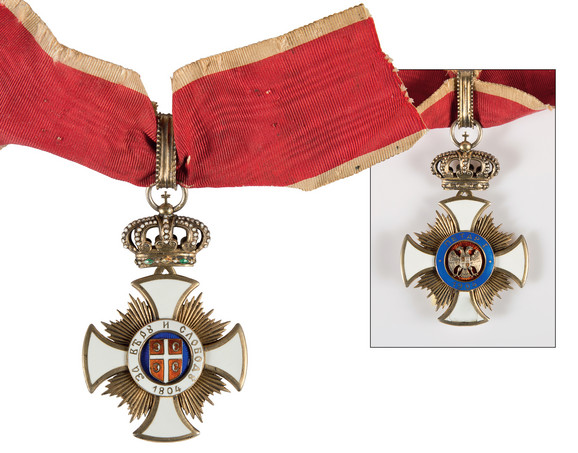 Orden Karađorđeve zvezde sa mačevima trećeg reda