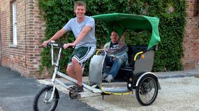 World Rickshaw Taxi - Luke Parry rusza na wyprawę dookoła świata na rikszy rowerowej