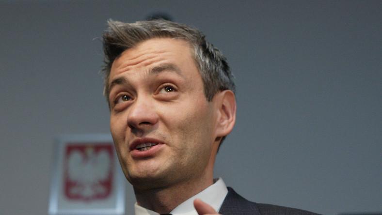 Poseł Ruchu Palikota Robert Biedroń