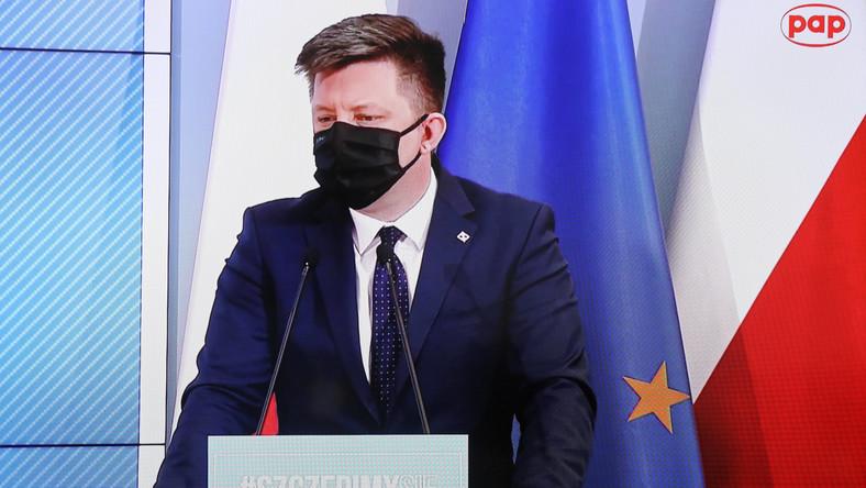 Szef Kancelarii Prezesa Rady Ministrów, pełnomocnik rządu ds. szczepień przeciwko Covid-19 Michał Dworczyk