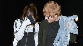 Ed Sheeran z dziewczyną kryją przed fotoreporterem