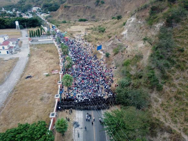 Migranci z Hondurasu