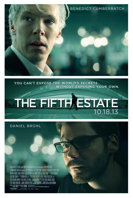 """The Fifth Estate"" - plakat"