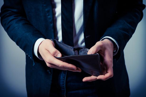 pusto w portfelu