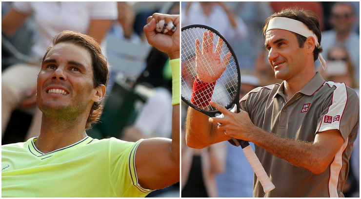 Rafael Nadal, Rodžer Federer