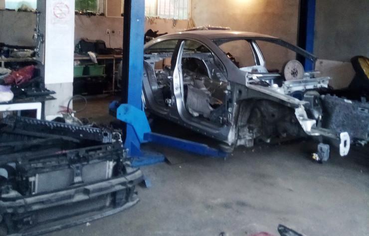 krađa automobila, hapšenje grupe iz Beograda i Čačka