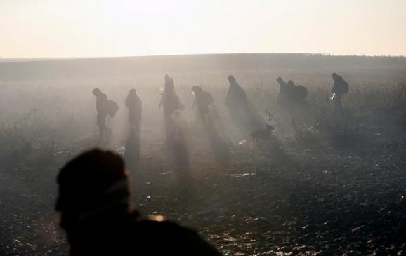 Migranti na putu ka EU