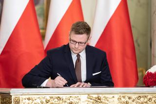 Solidarna Polska: Michał Woś odmówił objęcia stanowiska ministra bez teki