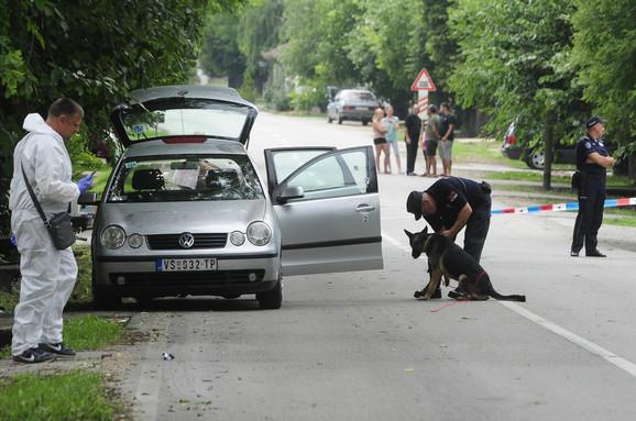 Cvetkovićev automobil pronađen je u ulici