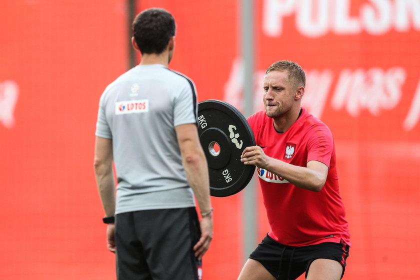 Pilka nozna. MS 2018. Reprezentacja Polski. Trening. 14.06.2018