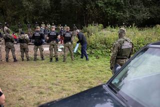 Usnarz Górny: Nowe posiłki wojska i policji na granicy polsko-białoruskiej