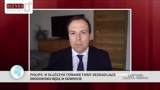 Prezes Philips Polska: Firmy globalne muszą się przyczyniać do zrównoważonego rozwoju