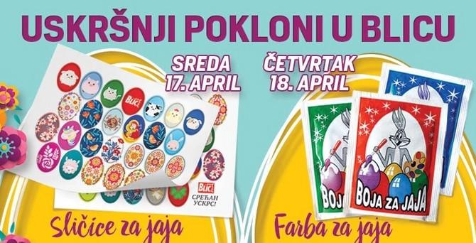 Uskršnji poklon u Blicu