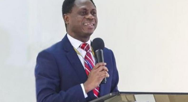 Apostle Eric Nyamekye is head of the Church of Pentecost