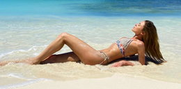 Opozda rozstała się z Królikowskim i kusi ciałem w bikini na Madagaskarze