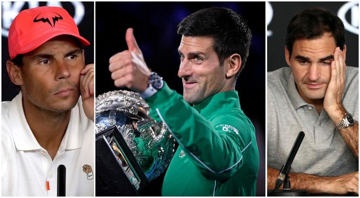Nadal Novak Rodžer