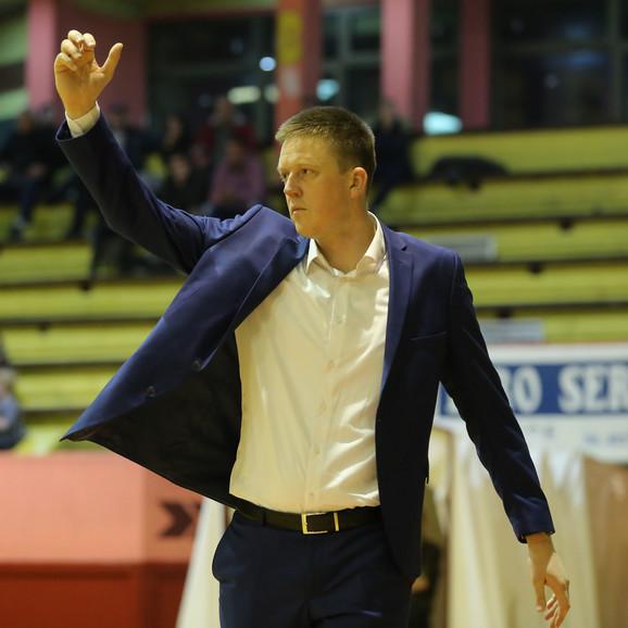 Vladimir Lučić, trener KK Sloboda Užice