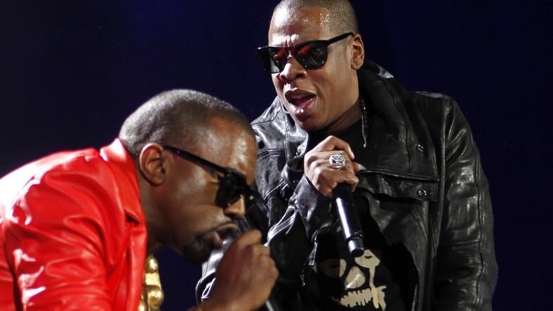 Jay-Z i Kanye West rapują w duecie