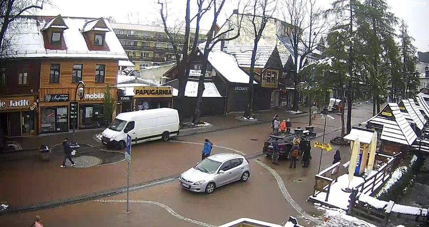 Majowy śnieg w Zakopanem