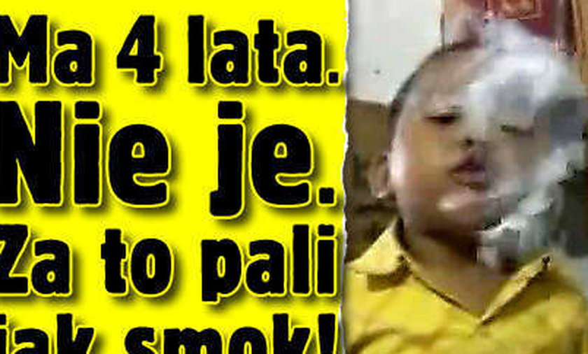 Ma 4 lata. Nie je. Za to pali jak smok!