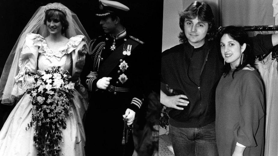 Diana i Karol / David i Elizabeth Emanuelowie