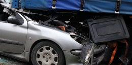 Kierowca zginął pod tirem