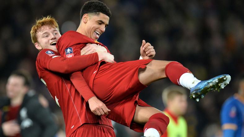 Piłkarze Liverpoolu: Sepp van den Berg i Ki-Jana Hoever