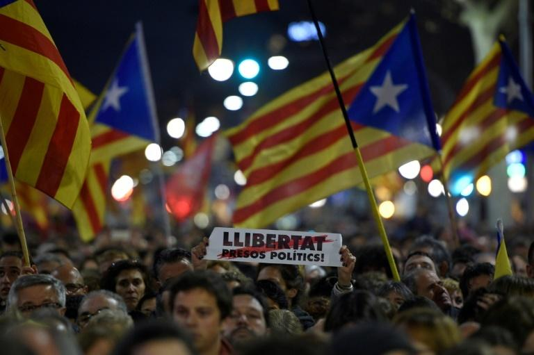 The trial of the 12 Catalan separatist leaders has triggered protests and strikes in the region