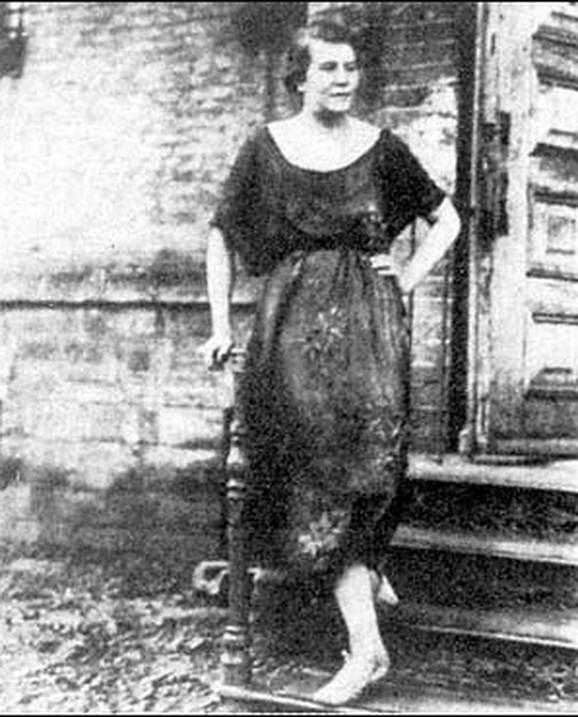 Jedina poznata fotografija žene za koju se veruje da je bila