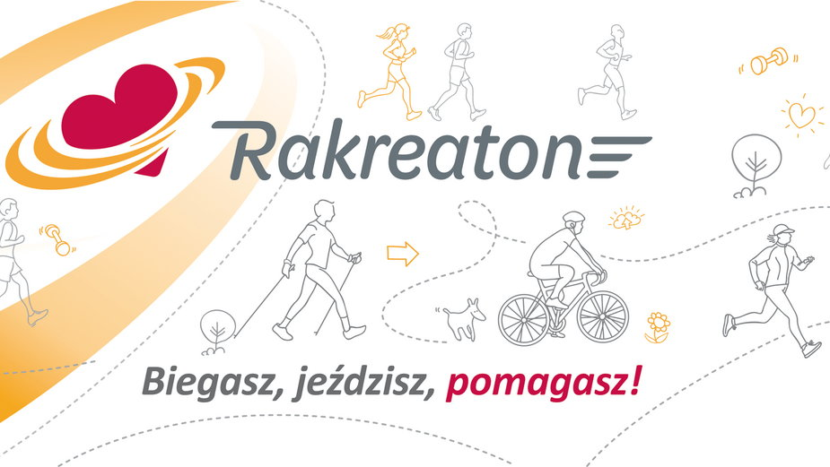 RakReaton znów zbiera kilometry dla chorych dzieci