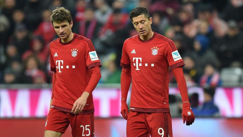 Thomas Mueller i Robert Lewandowski
