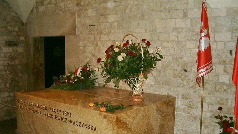 Marta Kaczyńska złożyła kwiaty w krypcie na Wawel