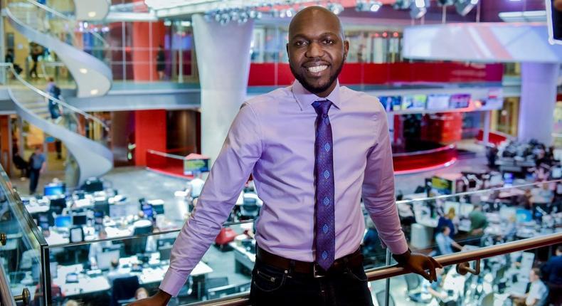 Media Personality Larry Madowo